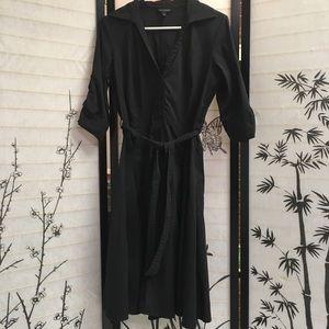 Banana Republic Black Shirt dress